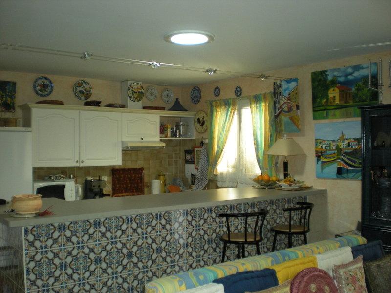 Pose de 3 puits de lumi re salon cuisine couloir for Lumiere salon