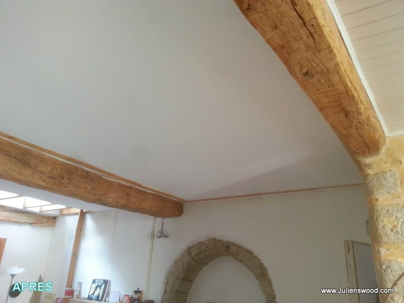 Plafond tendu et mur deco concept iclad for Realisation faux plafond decoratif