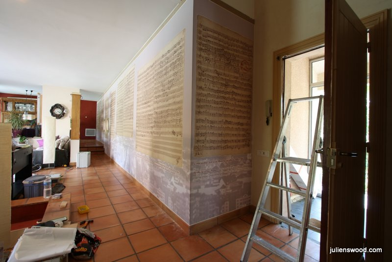 mur tendu archives plafonds et murs tendus. Black Bedroom Furniture Sets. Home Design Ideas