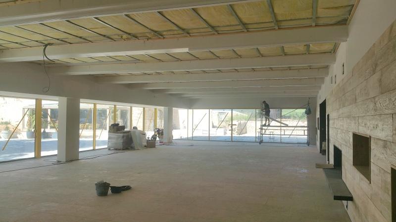 acoustique domaine de la grande sieste plafonds et murs tendus. Black Bedroom Furniture Sets. Home Design Ideas